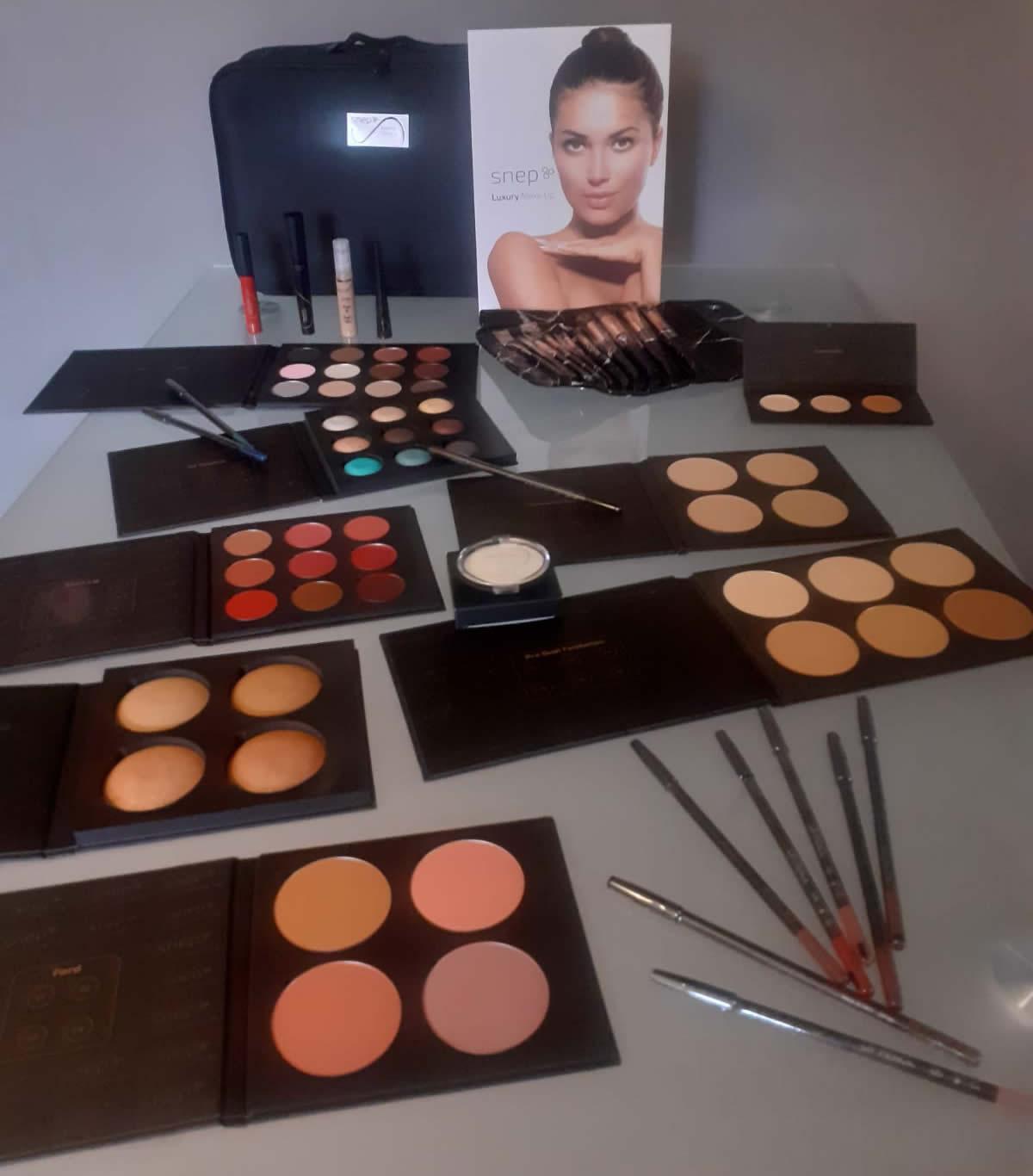 """La trousse valigetta con i trucchi firmati Snep: La """"Luxury Makeup"""""""
